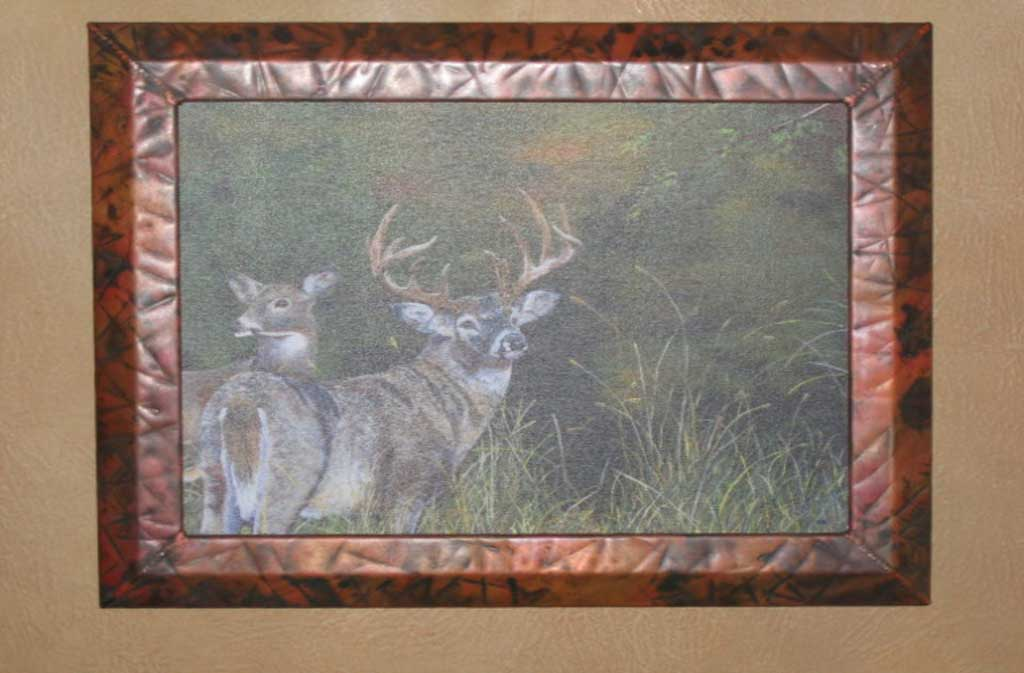 Hand Crafted Copper Frames