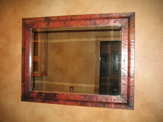 Frames And Mirrors Mountain Copper Creations