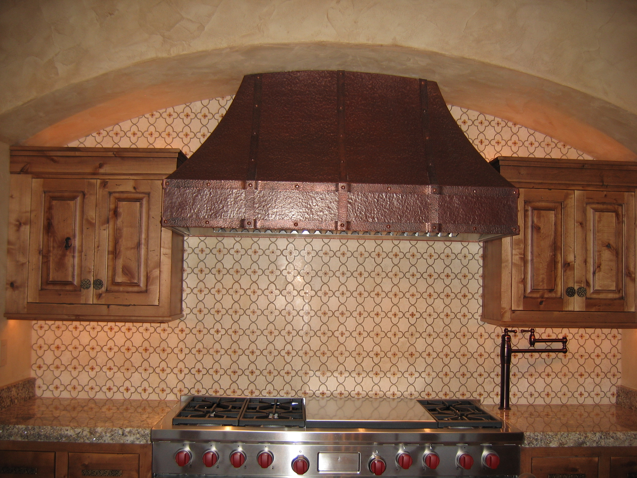 hand crafted copper range hood the bannack - Copper Range Hoods