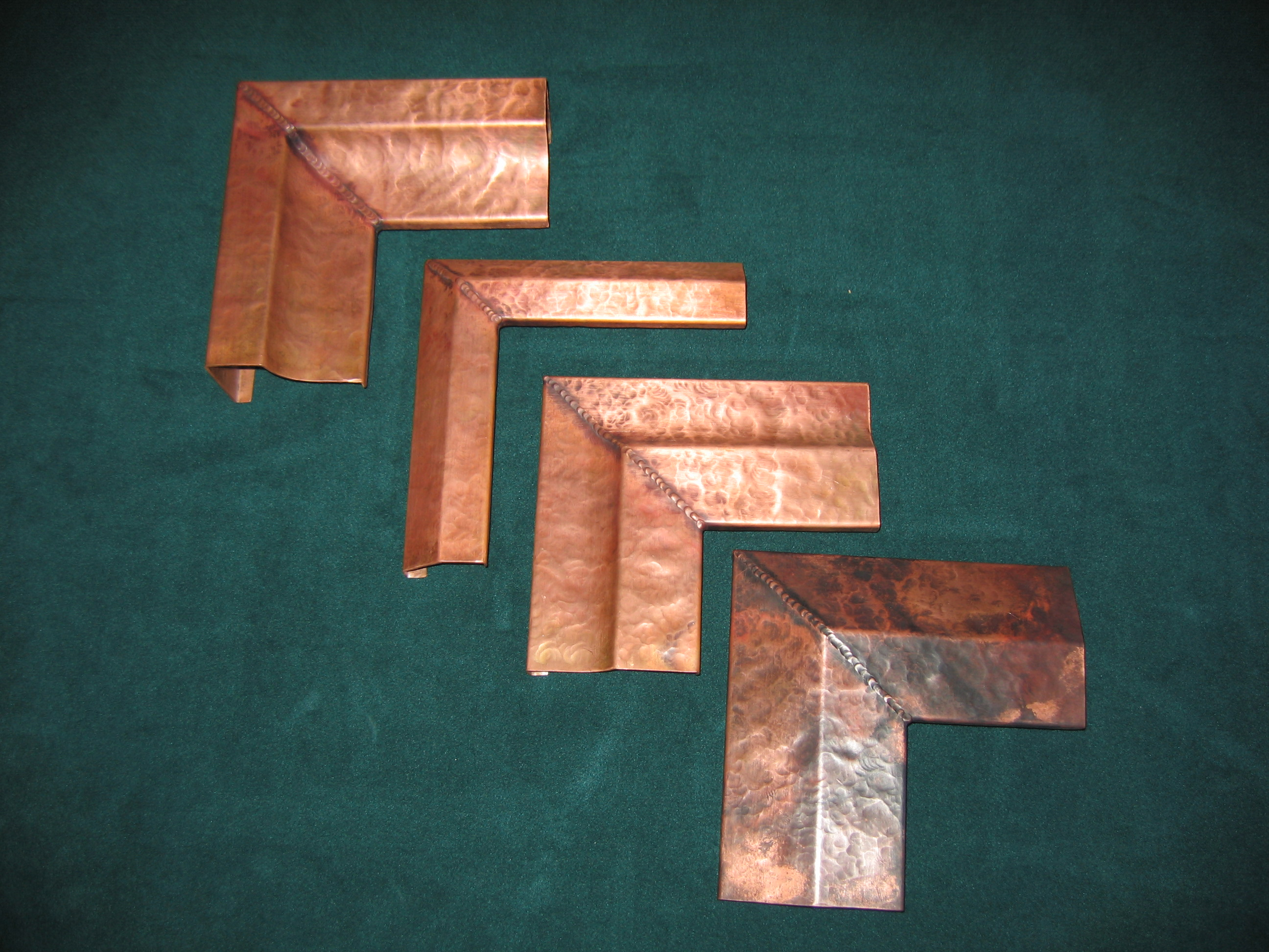 Rustic Copper Frames