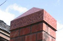 Architectural Copper Pillar Caps