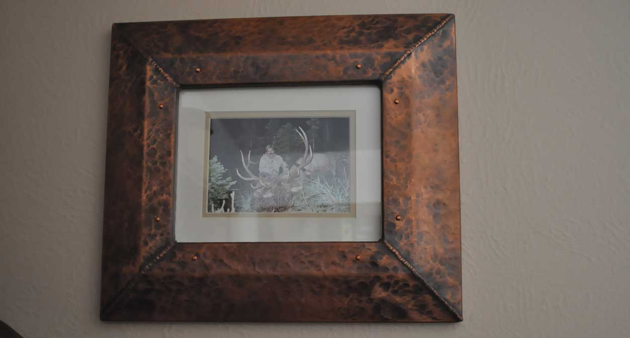 Rustic Copper Frames