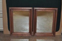 Copper Mirrors Hand Crafted