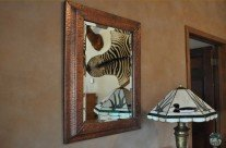 Montana Hand Crafted Copper Mirror