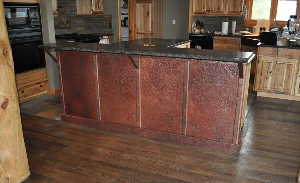 Rustic Copper Panels