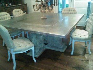 Custom Zink Table Tops Custom Zinc ...