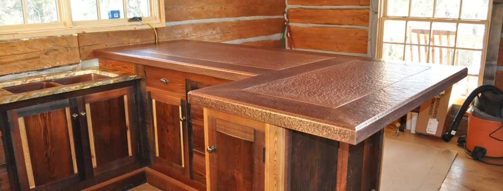 Time used countertop refrigerated display case fix for Copper countertops cost