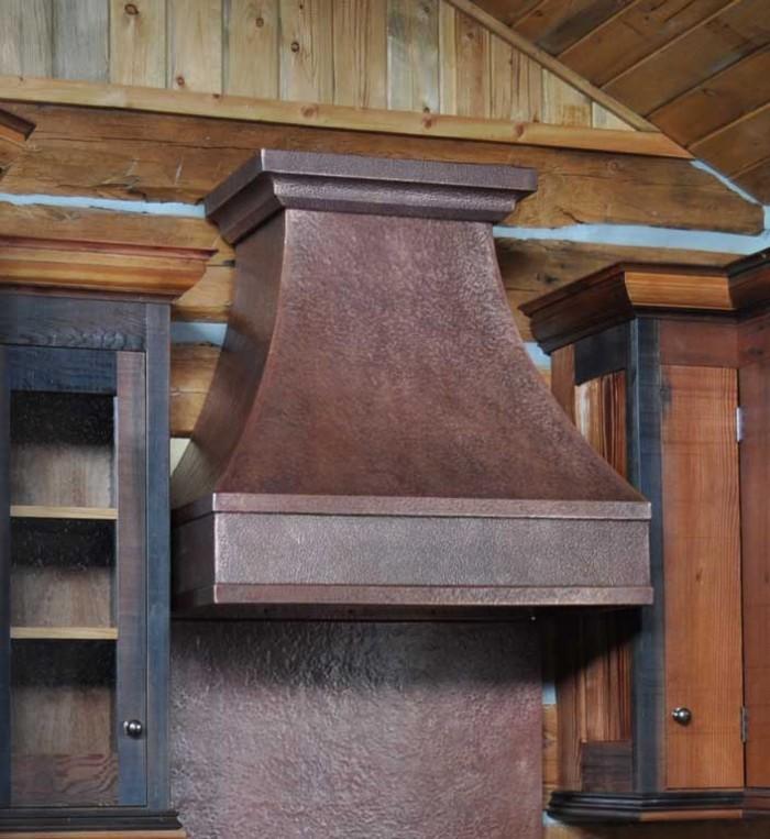 copper range hood simple elegance ovando - Copper Range Hoods