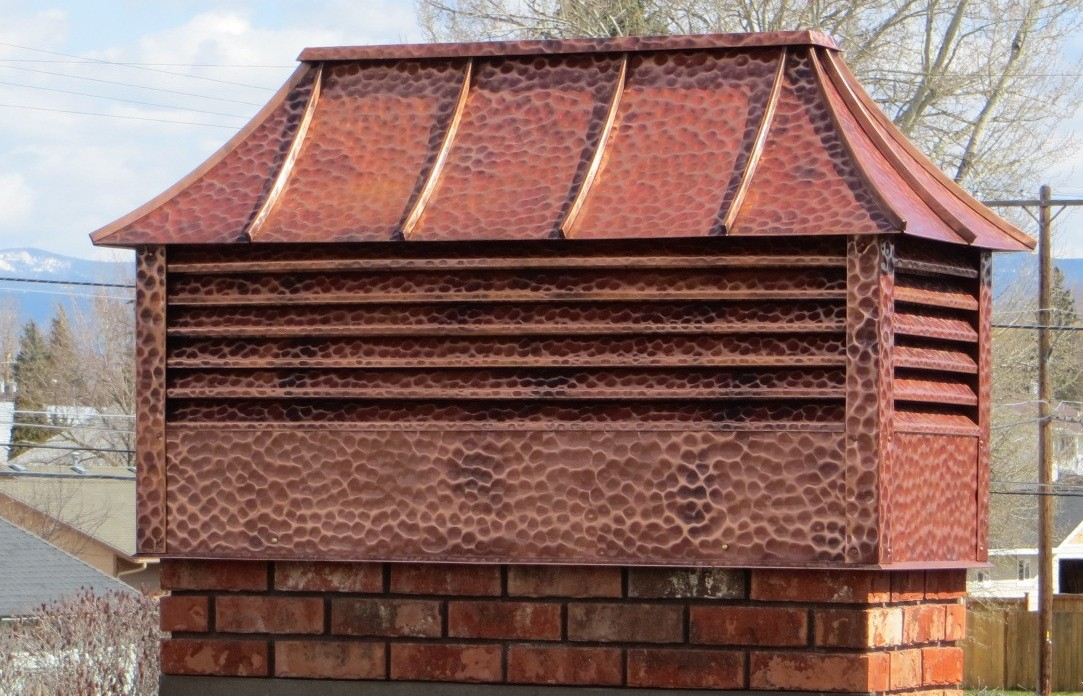 Copper Chimney Cap Stevensville