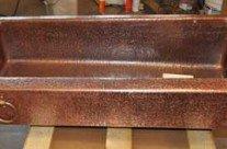 Copper Kitchen Sink Farm Front Trough