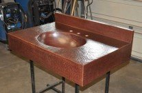 Copper Sink / Copper Counter Top