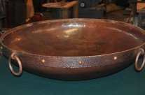 Copper Fire Pit Bowl Custom