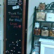 Copper Frame Chalk Board