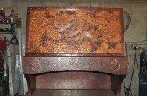 Branded Copper Range Hood