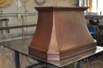 Copper Range Hood Miller Creek
