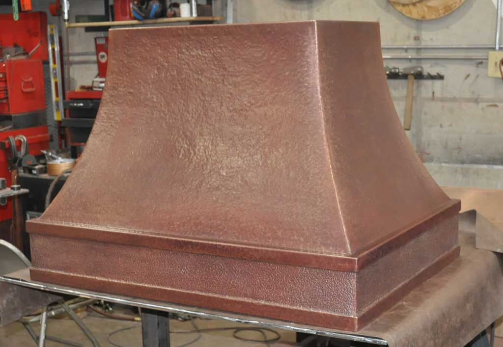 Range Hoods Product ~ Considering a custom copper or copper alloy range hood texas