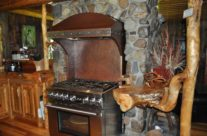 West Fork Custom Copper Range Hood