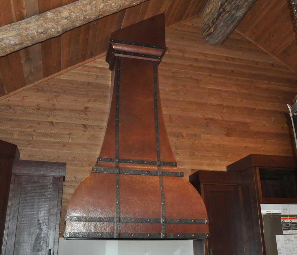 copper range hood deerborn