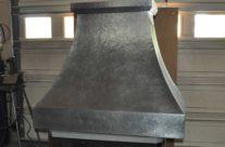 Custom Zinc Wall Range Hood Classic