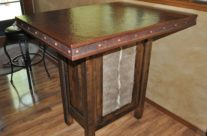 Hand Crafted Rustic Copper Table Top