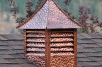 Hand Made Copper Cupolas